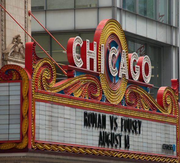 Chicago marquee signage