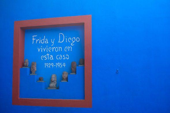 Frida y Diego vivieron en esta casa, Museo Frida Kahlo