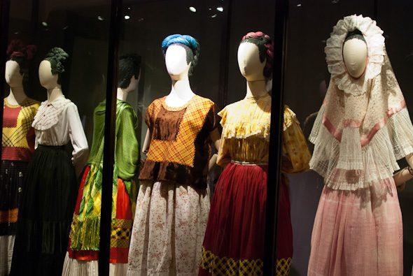Frida Kahlo's dresses, Museo Frida Kahlo