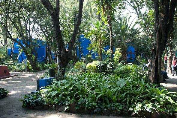 courtyard, Museo Frida Kahlo