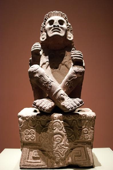Courtyard at Museo Nacional de Antropología, Mexico City